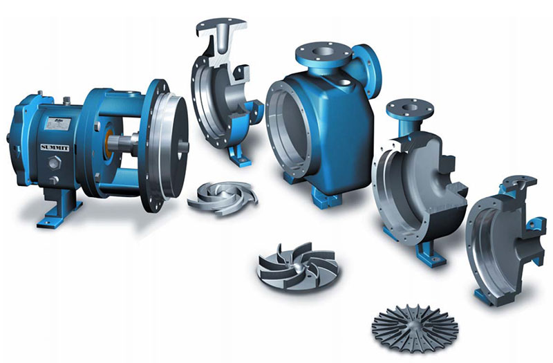 PUMPNSEAL Australia refurbishing Goulds, Durco, Blackmer, Chesterton, and Summit ANSI Pumps