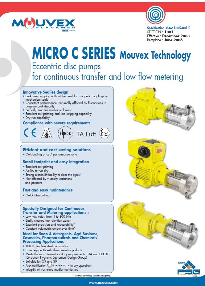 Mouvex-Micro-C-Series