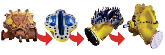 PUMPNSEAL - Pump Refurbishment