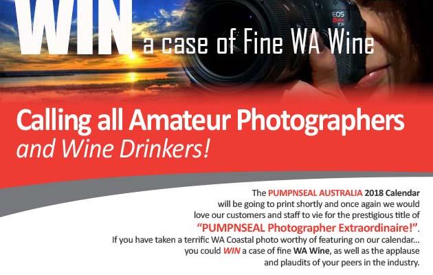 PUMPNSEAL Australia Photo Competition 2018